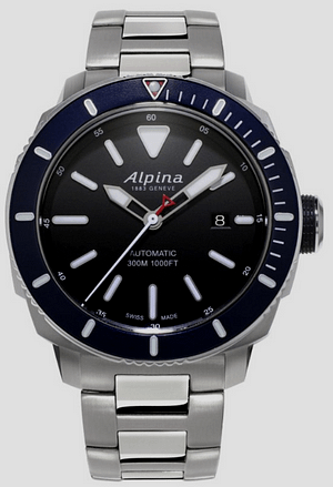 Alpina Seastrong Diver: best dive watches