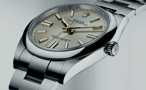 best first luxury watch:Rolex Oyster Perpetual
