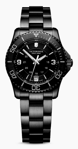 Cheap Luxury Watches Victorinox Swiss Army Maverick Small Black Edition