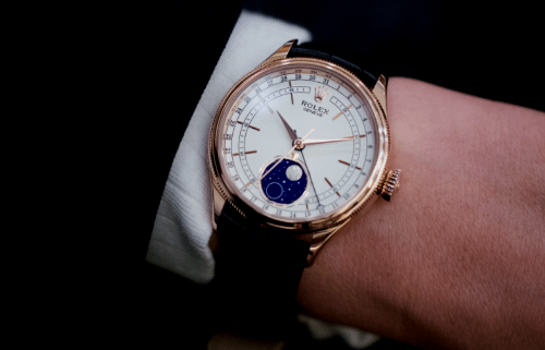used Rolex Cellini Moonphase